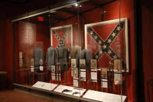 Confederate display