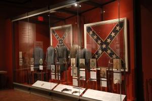 Confederate display