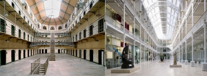 Left: Kilmainham Gaol, Dublin. Right: National Museum of Scotland - images © Barry Mason, National Museums Scotland